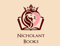 Nicholant Books Logo lion contest winner