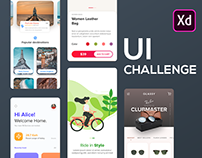 UI Challenge | 5 Apps with XD