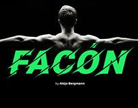 Facón Free Font Typeface