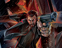 ROCKY HANDSOME- Movie Poster commission