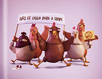 Não dê canja para a gripe | PREF. DE CAMPO LARGO