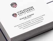 The Platinum Concierge business cards
