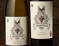 Tradition (Amizetta Estate Winery) Package/Logo Design