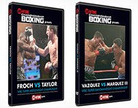 Showtime Championship Boxing DVD covers