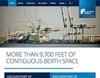 Georgia Ports Authority Website