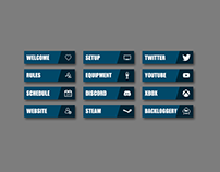 Twitch Overlays + Assets