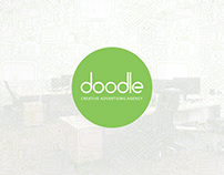 Doodle Advertising Agency Rebranding & Web Design