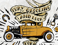 Ford Canada Illustrations