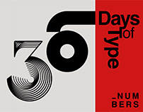 36 Days of Type //Numbers