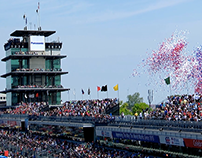 Hoosier Lottery - 100th Running Indy 500 Scratch-off