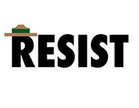 Resist, park ranger style