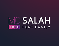MO SALAH | FREE FONT FAMILY