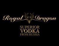 Royal Dragon Vodka - Design, Photography & Video Teaser