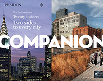 Companion digital travel magazine