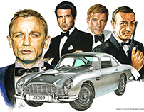 James Bond - Aston Martin DB5