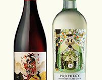 Prophecy Wine Labels (Single Project)