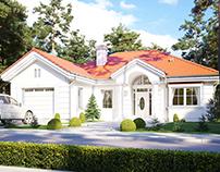 Projekt domu Dom na parkowej 2