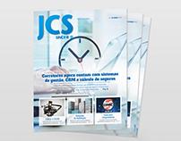 Diagramação - Jornal dos Corretores de Seguros (JCS)