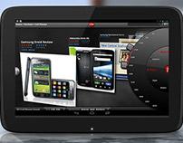 Inventive Navigation System for CNET's Tablet Design