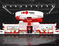 Exhibition stand for AKADO