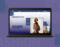 Web design: Fashion style