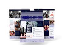 Web Design - Acumar & IUNA / Danza para la inclusion