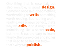 Publishing Program Ad