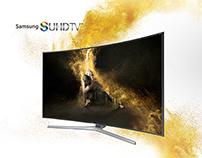 Samsung SUHD TV microsite