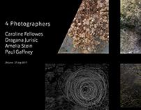 4 Photographers exhibition catalogue.
