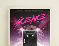 My Science Project (1984) / Movie Poster Design
