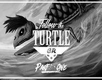 T-shirt Design Part1-Follow The Turtle CR