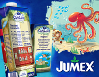 Jumex - Packaging Illustrations