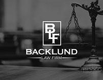 Backlund Logo Design...