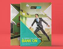 Banking institute Brochure design
