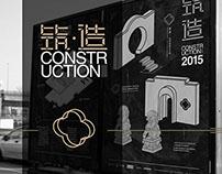 """CONSTRUCTION""-Glass Art Exhibition VI"