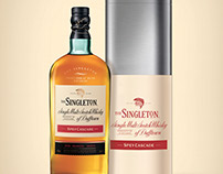Packaging whisky The Singleton
