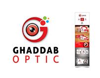 GHADDAB Optic - Logo