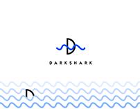 Darkshark logo design