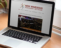 New Wineskins Website Design