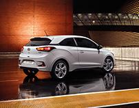 Hyundai brochures redesign + i20 Coupé