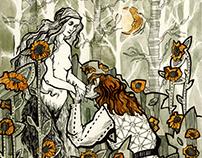 "Illustration for Umberto Eco's novel ""Baudolino"""