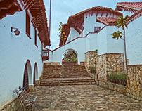 GUATAVITA Madera, cal y piedra