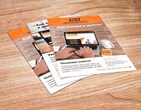 Дизайн листовок