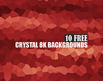 Free 10 Crystal 8K Backgrounds