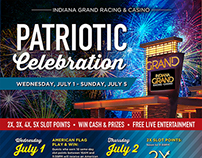 Patriotic Celebration Collateral