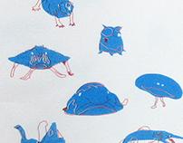Risograph / Weird Animals