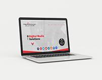 Mediaboom - website design