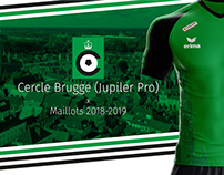 Cercle Brugge - Maillot / Jerseys 2018 2019