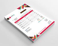 Colorful Corporate Invoice