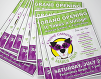It Takes a Village Canine Rescue Grand Opening